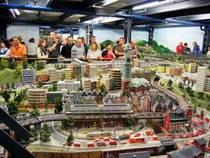 Das Miniatur Wunderland im Hamburger Hafen